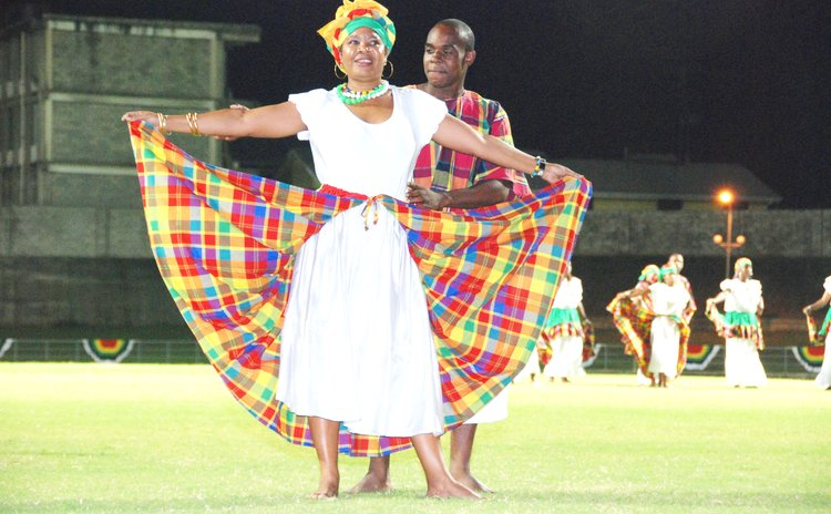FILE PHOTO:Bele dancers