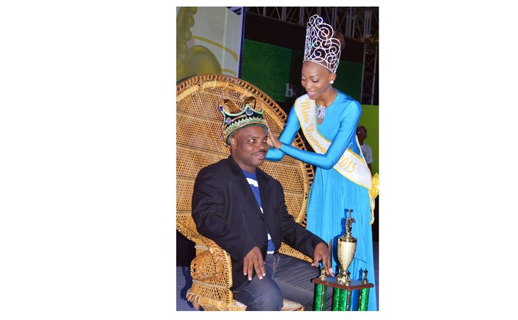 Carnival Queen crowns King Karessah