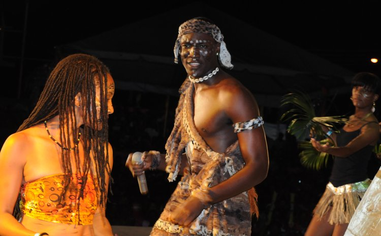 Black Diamond performs at at Calypso Finals
