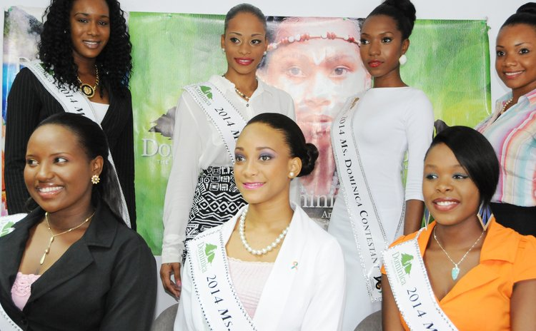 Miss Dominica 2014 contestants