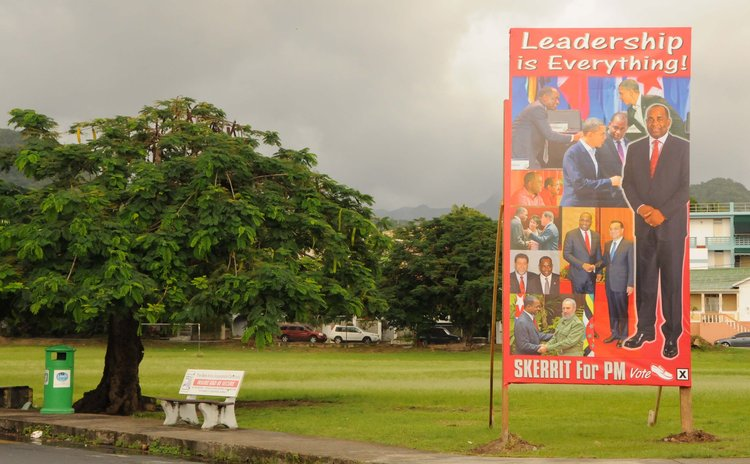 Promoting leadership, near Lindo Park, Goodwill
