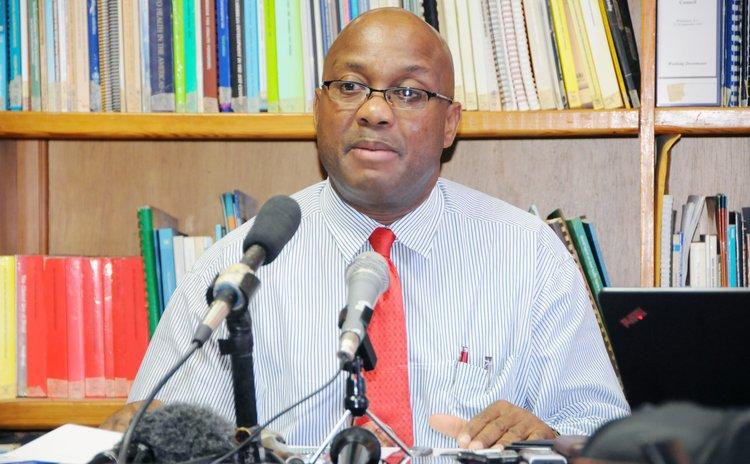 Chief Medical Officer David Johnson