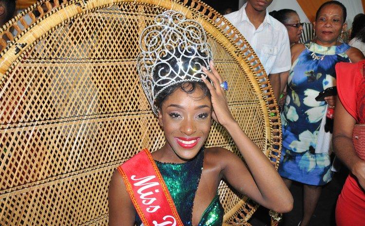 Miss Dominica 2016 Tasia Floissac