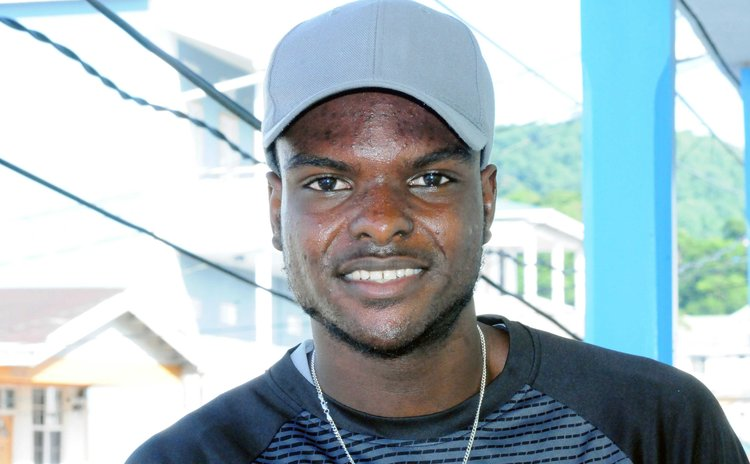 Danelson Mahautiere , Dominica's best sportsman in 2017