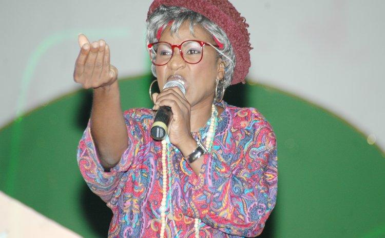 Calypsonian Leandra Cuffy