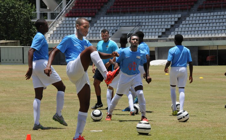DIGICEL Kickstart football action