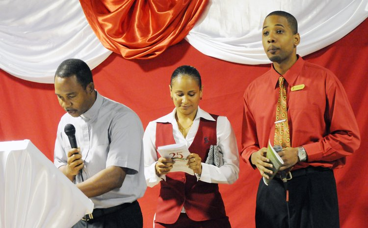 Scotiabank celebrates 25 years of service to Dominica: the 25th