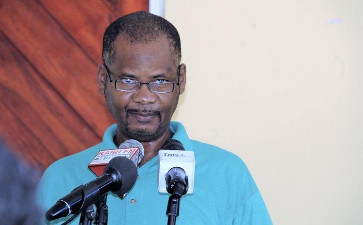 Achile Joseph, CEO of the DEF