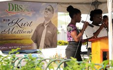 DBS remember Station Engineer  Kurt Matthew at a special function outside the studios