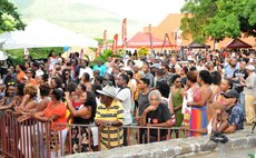 Patrons at an earlier edition of the Creole 'n Jazz Festival