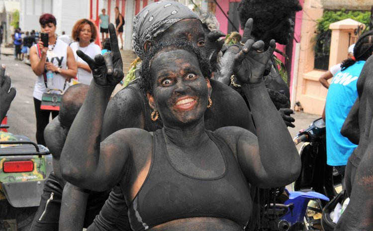 Black Devils on Carnival Monday 2018