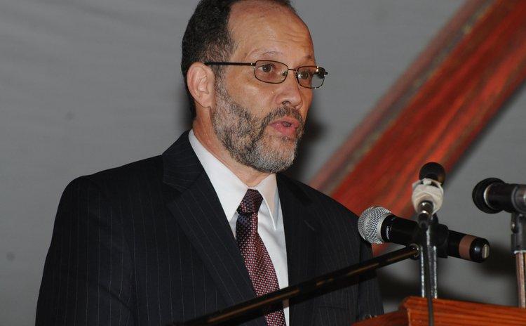 Caricom secretary general Irwin LaRocque