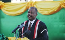 The UWI Vice-Chancellor Sir Hillary Beckles