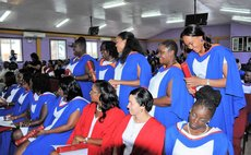 Some of the 2018 graduates of UWI Open Campus Dominica