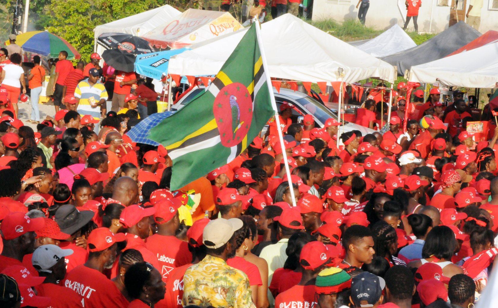 """The Dominica Labour Party (DLP) held its """"Labour is the ..."""