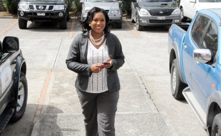 UWP senator Monelle Williams goes to Parliament for the first time as a senator