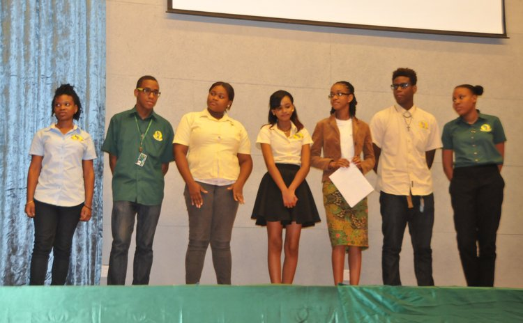 Students of Create Caribbean Inc