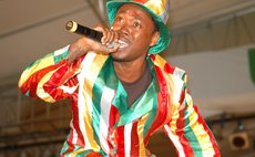 Dice, Dominica's best calypsonian