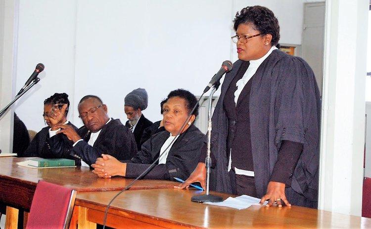 Retiring DPP Baptiste addresses High Court in Roseau