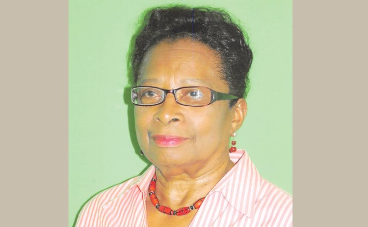 Former Principal of the  Convent High School Dorothy Leevy
