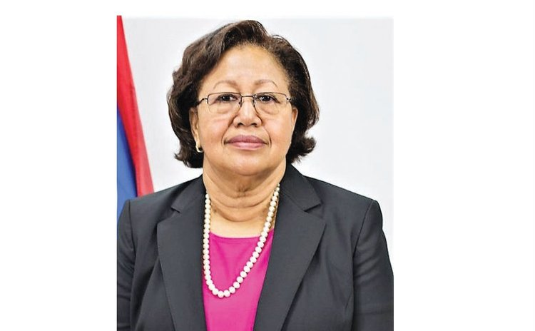 Dr. Carla Natalie Barnett, CARICOM secretary general