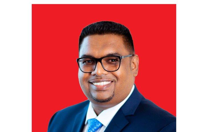 President Dr. Mohamed Irfaan Ali