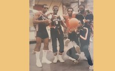 Some members of Eagles Sports Club Carnival Band, 1986. Photo Courtesy: Mario & Didi.