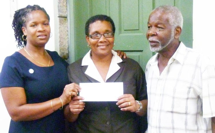 Education Trust Fund officials receive donation