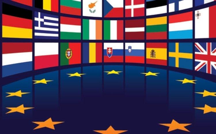 Erropean Union flags