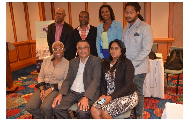 Executive of the Caribbean Media Workers Association