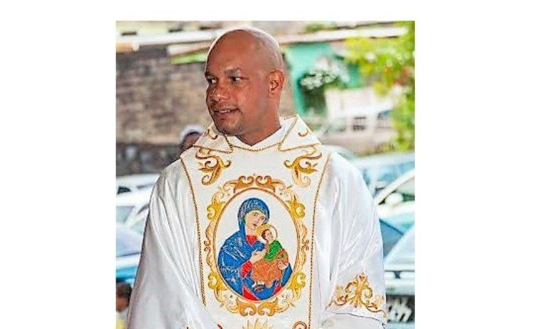 Catholic priest Father Elton Letang