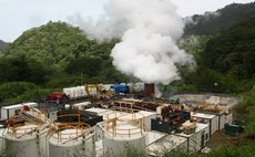 Geothermal Plant in the Roseau Valley