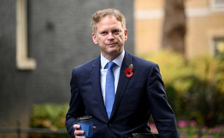 British Transport Secretary Grant Shapps