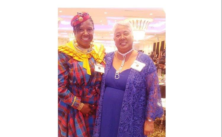 Frances Delsol and Amah Harris