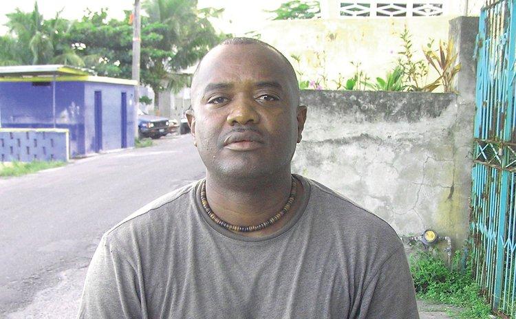 UWP Soufriere candidate Hidges Adams