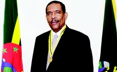 His Excellency President Charles Savarin