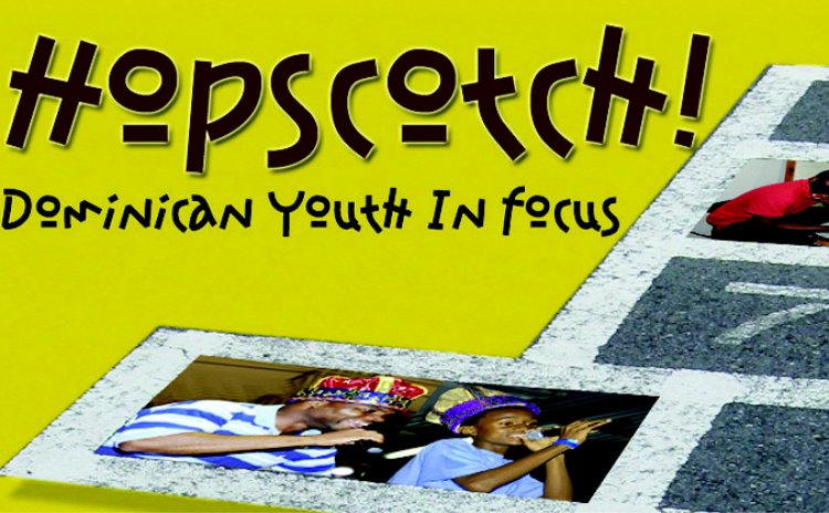 A section of the front cover of Hopscotch