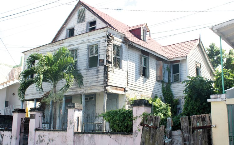 House on King George V Street