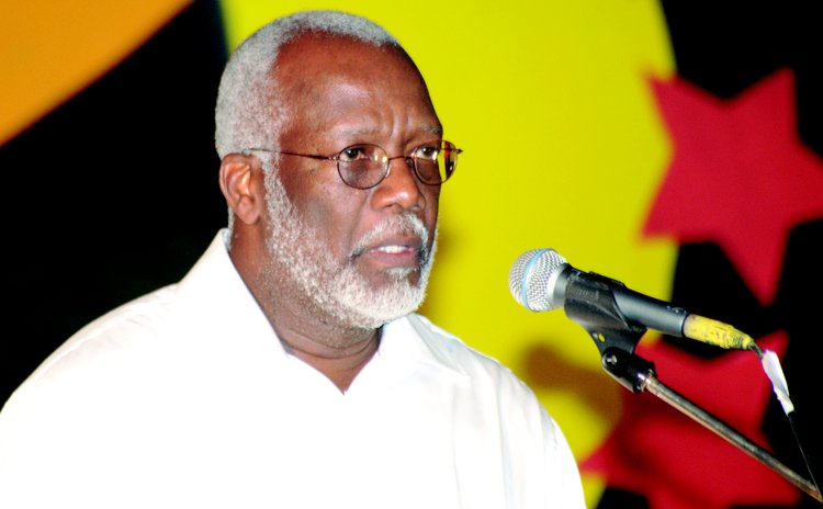 Former Dominica Ambassador to Washington, Hubert Charles