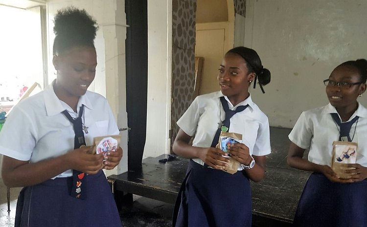 Students of the Convent High School