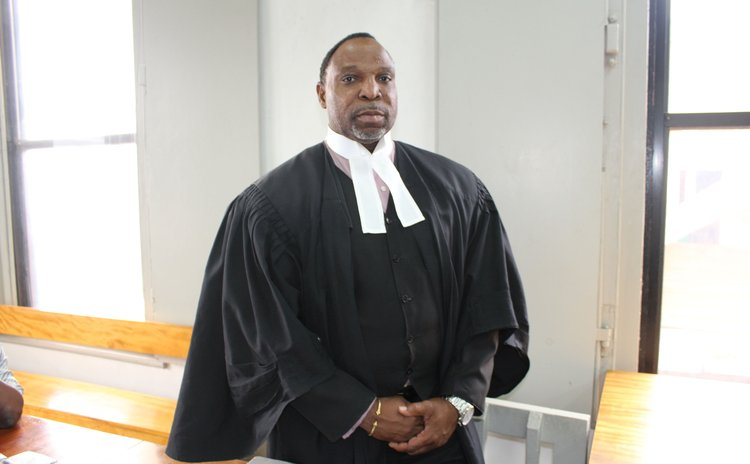 Trinidadian attorney at law Keith Scotland