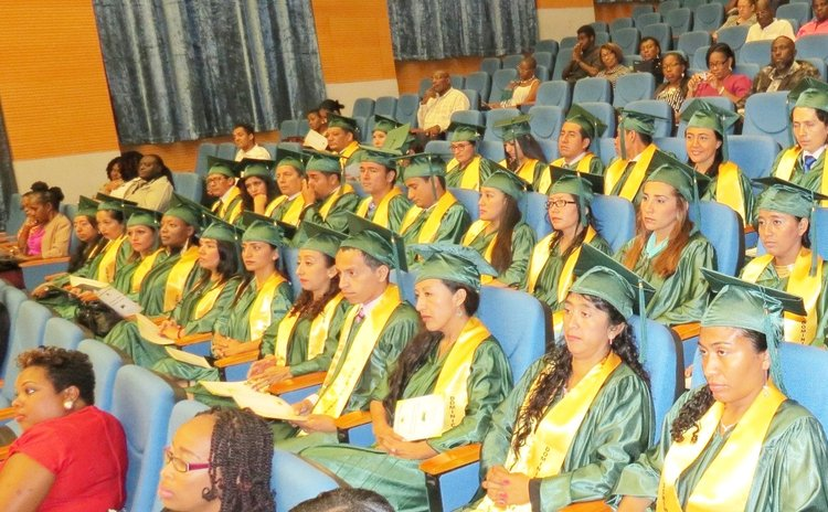 DSC graduation ceremony