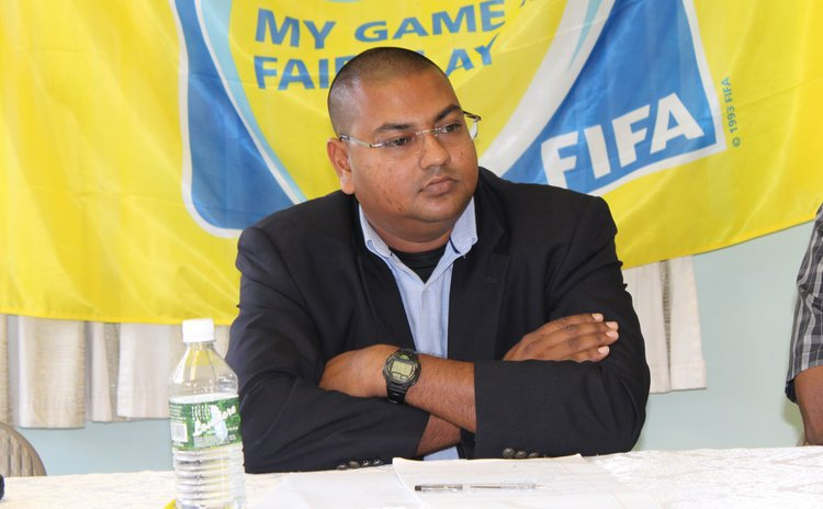 Rajesh Joseph Latchoo at the DFA press conference last week