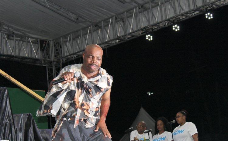 Karessah at the 2018 Calypso Finals