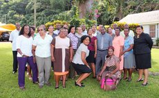 Teachers, MOE and UWI offi