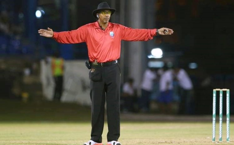 Elite umpire Joel Wilson