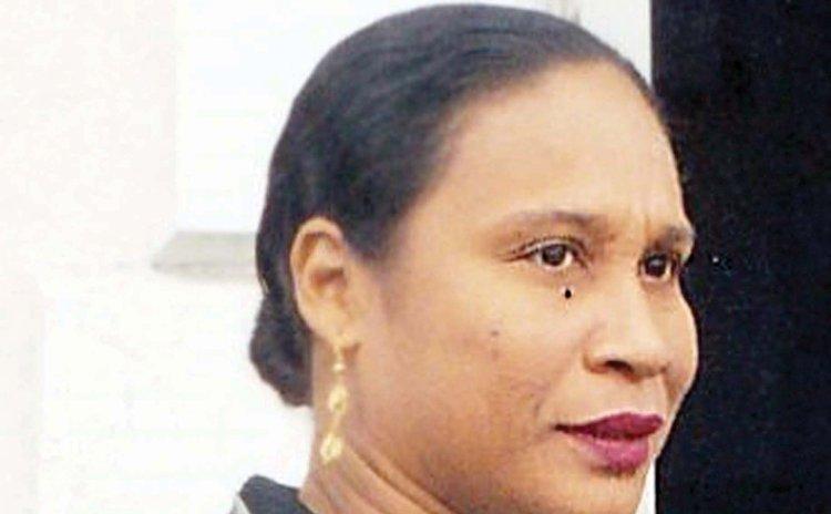Former Parliamentary Secretary Jacqueline Theodore