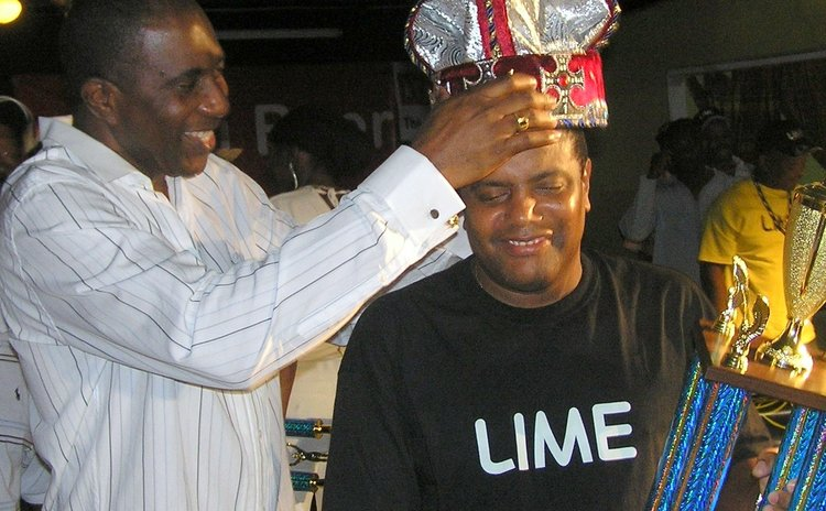 FILE PHOTO: Jeffrey Baptiste crowning Checker