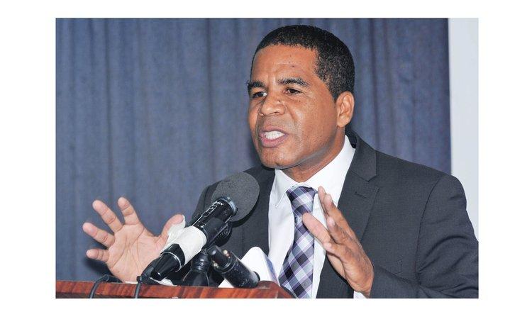 Roseau South MP Joshua Francis