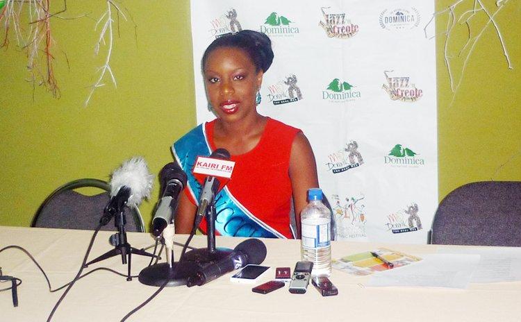 Keianna John, Miss Dominica 2015 contestant